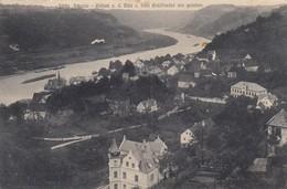 Postcard Sachs Schweiz Wehlen A D Elbe V Villa Waldfrieden Aus Gesehen My Ref  B13488 - Wehlen