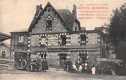¤¤   -   BAGNOLES-de-L'ORNE   -  Hôtel Moderne  -  Café-Restaurant De La Gare  - GUIRAL, Propriétaire      -   ¤¤ - Bagnoles De L'Orne