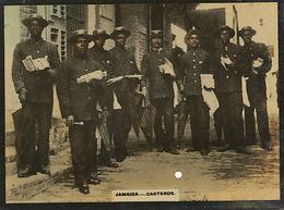 Small Real Photo Jamaica Carteros Facteurs  Postmen - Jamaica
