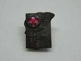 Distintivo Croce Rossa Italiano - Fascio Littorio -Picchiani Barlacchi Firenze - Altri