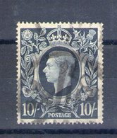 Grande Bretagne. Georges VI. 10 S Bleu 1939 - 1840-1901 (Viktoria)