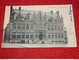 MOUSCRON  -  Hôtel De Ville     -   1904 - Mouscron - Moeskroen