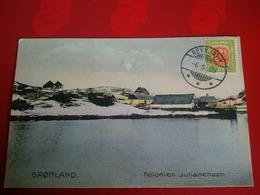 GRONLAND KOLONIEN JULIANEHAAB - Islande