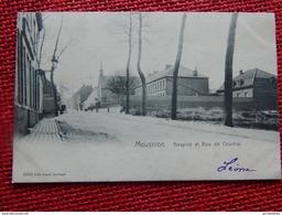 MOUSCRON  -  Hospice Et Rue De Courtrai   -  1904 - Mouscron - Moeskroen