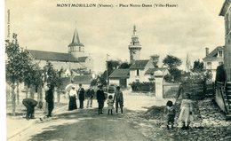 86 - MONTMORILLON - Place Notre Dame (Ville Haute) - Montmorillon