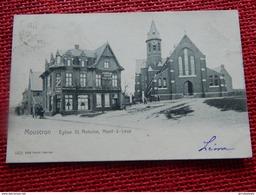 MONT-à-LEUX  -  MOUSCRON  -  Eglise St Antoine  -  1904 - Mouscron - Moeskroen