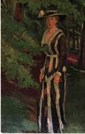 Gemälde Von Edw. Cucuel - Einsamkeit Ca 1920 Malerei - Malerei & Gemälde