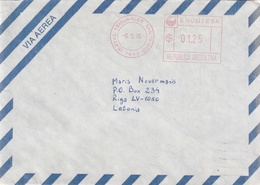 ARGENTINA AIR MAIL COVER - Argentinien