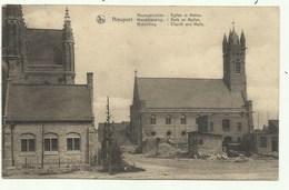 Nieuwpoort - Heropbouw Kerk En Hallen  ( 2 Scans) Verzonden - Nieuwpoort