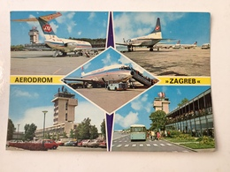 AK  AERODROME  AIRPORT  ZAGREB   CROATIA - Aerodrome
