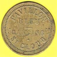 Nécessité - Jeton De Bal - PAVILLON BLEU à SAINT-CLOUD (92) - Monétaires / De Nécessité