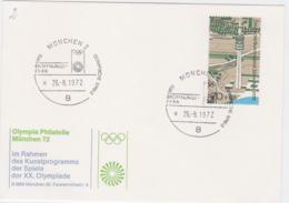 Germany Card 1972 Olympic Games München - München Eröffnungsfeier (G101-19) - Sommer 1972: München