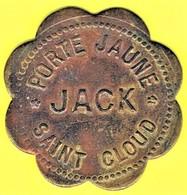 Nécessité - Jeton De Bal - JACK à SAINT-CLOUD (92) - Monétaires / De Nécessité