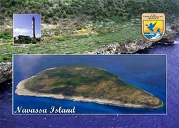 Navassa Island  Aerial View Caribbean New Postcard - Autres