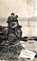 Liebespaar Am See - Confidence Amorose Feldpost 1944 - Paare