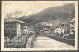 P1464  - MOENA  - ALBERGO FALORIA E HOTEL CATINACCIO - Italia