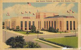 Houston, Texas TX - Sam Houston Coliseum And Music Hall - Photo By Glass Studio - Houston