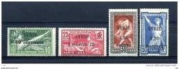 Syrie  :  Yv  122-25  * - Syria (1919-1945)