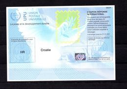 9417 IRC IAS CRI - International Reply Coupon - Antwortschein T40, Kroatien, Croatie, HR 20170802 AA - Kroatien