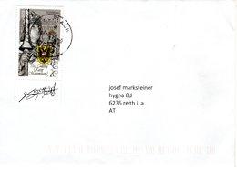Brief Von 8580 Köflach Mit 80 Cent 500. Todestag Kaiser Maximilian 2019 - 2011-... Briefe U. Dokumente