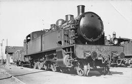 """¤¤   -  Carte-Photo D'une Locomotive Du """" P.O. Midi """" N° 240-505  En Gare    -  Chemin De Fer   -  ¤¤ - Matériel"""
