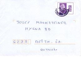 Auslands - Brief Von 73000 Chambery Mit Marke Violett International 2019 - 2018-... Marianne L'Engagée