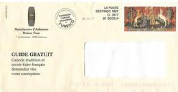 Destineo MD7 CI3977 Simili Timbre Tapisserie Dame Licorne Manufacture Aubusson Unesco Cheval Horse Pferd - Postmark Collection (Covers)