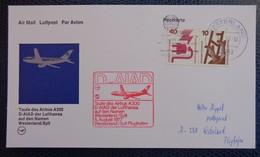 071g - FFC, FIRST FLIGHT COVER, ANNIVERSARY/FIRST FLIGHT:  LUFTHANSA - 1977 WESTERLAND - Deutschland