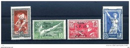 Syrie  :  Yv  149-52  *     ,  N3 - Syria (1919-1945)