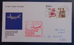 072g - FFC, FIRST FLIGHT COVER, ANNIVERSARY/FIRST FLIGHT: LUFTHANSA - 1977 WESTERLAND - Deutschland