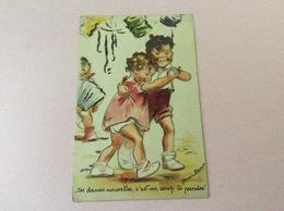 "Carte Postale En 3 D De Germaine Bouret ""enfants Dansant"" - Bouret, Germaine"