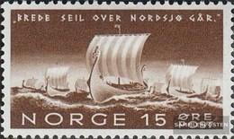 Norwegen 268 MNH 1942 Richard Nordraak - Unused Stamps