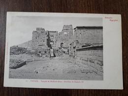 L23/124 Haute-Egypte - THEBES - Temple De Médinet-Abou - Pavillon De Ramsès III - Andere