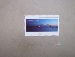 Deutschland   Mitläufer 50 Jahre Fehmarnsundbrücke   2013      ** - Europäischer Gedanke