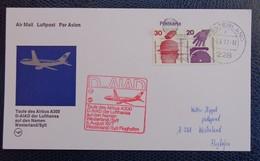 079g - FFC, FIRST FLIGHT COVER, ANNIVERSARY/FIRST FLIGHT: LUFTHANSA - 1977 WESTERLAND - Deutschland