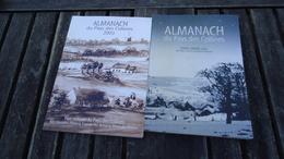 Almanachs Du Pays Des Collines  (années 2001 Et 2003) - Belgique
