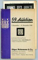 59. E. Mohrmann Auktion Hamburg 1948  - Früher Auktionskatalog - Auktionskataloge