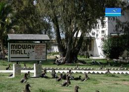 Midway Atoll Midway Mall New Postcard - Islas Midway