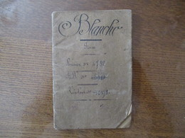 DOUANES LIVRET DE PREPOSE ADMIS A L'EMPLOI LE 1er OCTOBRE 1891 47 PAGES - Documents Historiques