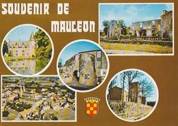 MAULEON. - SOUVENIR. Multivues. CPM - Mauleon
