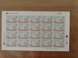Mi.681/682** Europa CEPT 1987 Sheet. - Chypre (République)