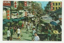 MARKET EXISTING IN THE OPEN STREET KOWLOON, HONG KONG  VIAGGIATA FG - Cina (Hong Kong)