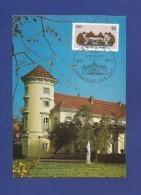 DDR 1986  Mi.Nr. 3034 , Schloß Rheinsberg - Schlösser Der DDR - Maximumkarte - 29.07.1986 - - Schlösser U. Burgen