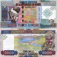 GUINEA - GUINEE 5000 Francs 2010 Banknote Pick 44 UNC  (14457 - Banknoten
