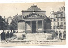 PARIS  CHAPELLE LOUIS XVI . 73bis BOULEVARD HAUSSMANN . CARTE NON ECRITE - France
