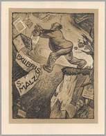 """08451 """"EX LIBRIS - S. MALZ"""" ORIG. - Ex Libris"""