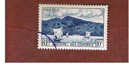 COMORE (COMORO ISLAND)  - SG 1 - 1950 ANJOUAN BAY - USED  - - Isole Comore (1975-...)