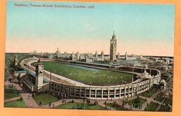 London Franco British Exhibition UK 1908 Postcard - London