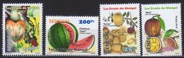 Senegal 2013 4 V MNH Fruits Fruit - Frutta