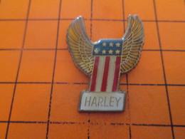 513J PIN'S PINS / Rare Et De Belle Qualité ! / Thème : MOTOS / N°1 HARLEY .... N°1 Chez Les Gras Du Bide Surtout - Motos
